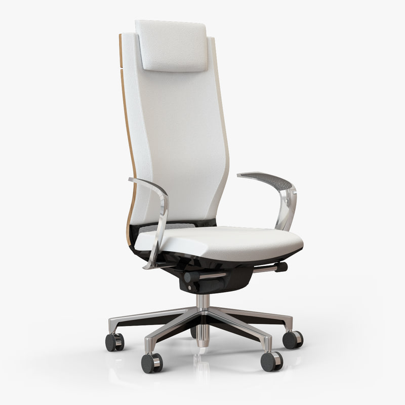 3ds max office chair moteo
