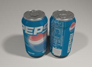 3d pepsi beverage