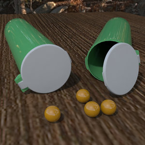 paintball pod 3d model