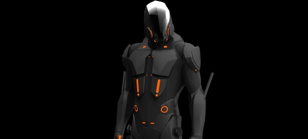 max black guard tron: legacy