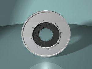 maya camera shutter