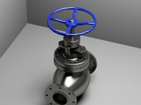 3d valve model