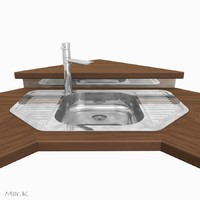 3d model of sink tap