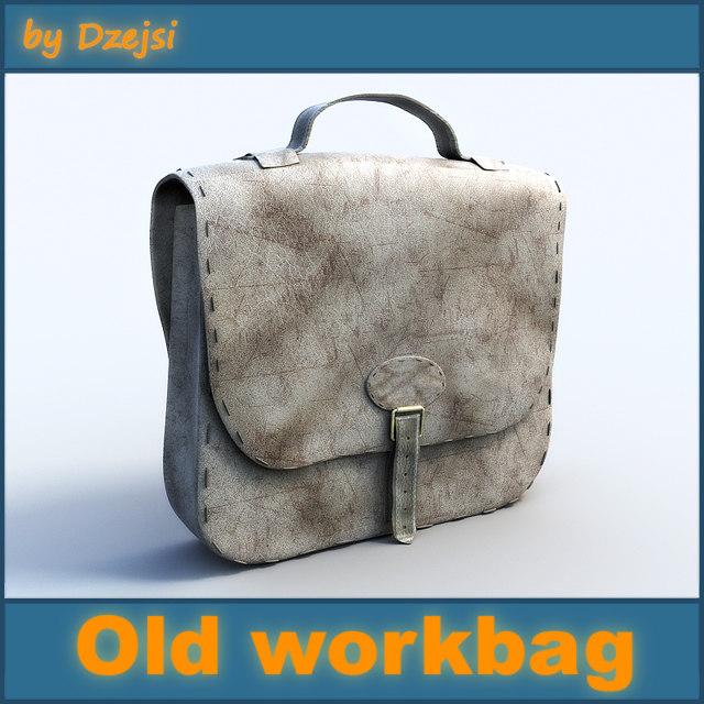 old workbag 3ds