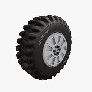 c4d tyre heavy vehicles