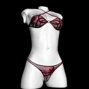 3d model woman bikini