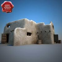 afghanistan house v3 3d model