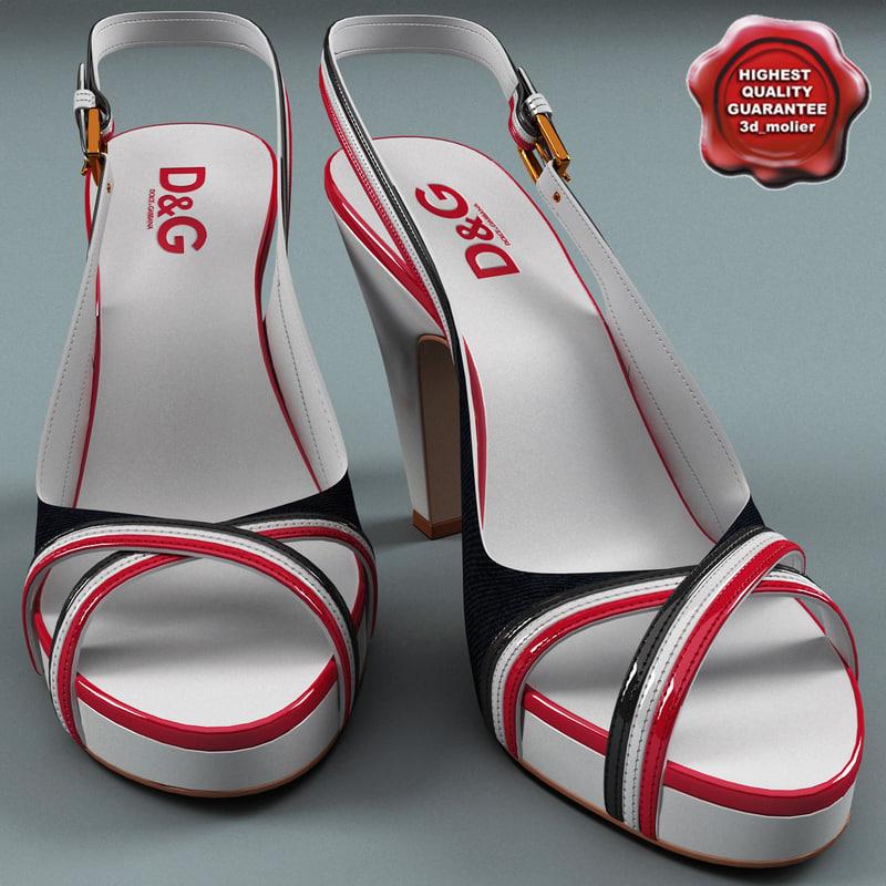 female shoes dg 3d 3ds