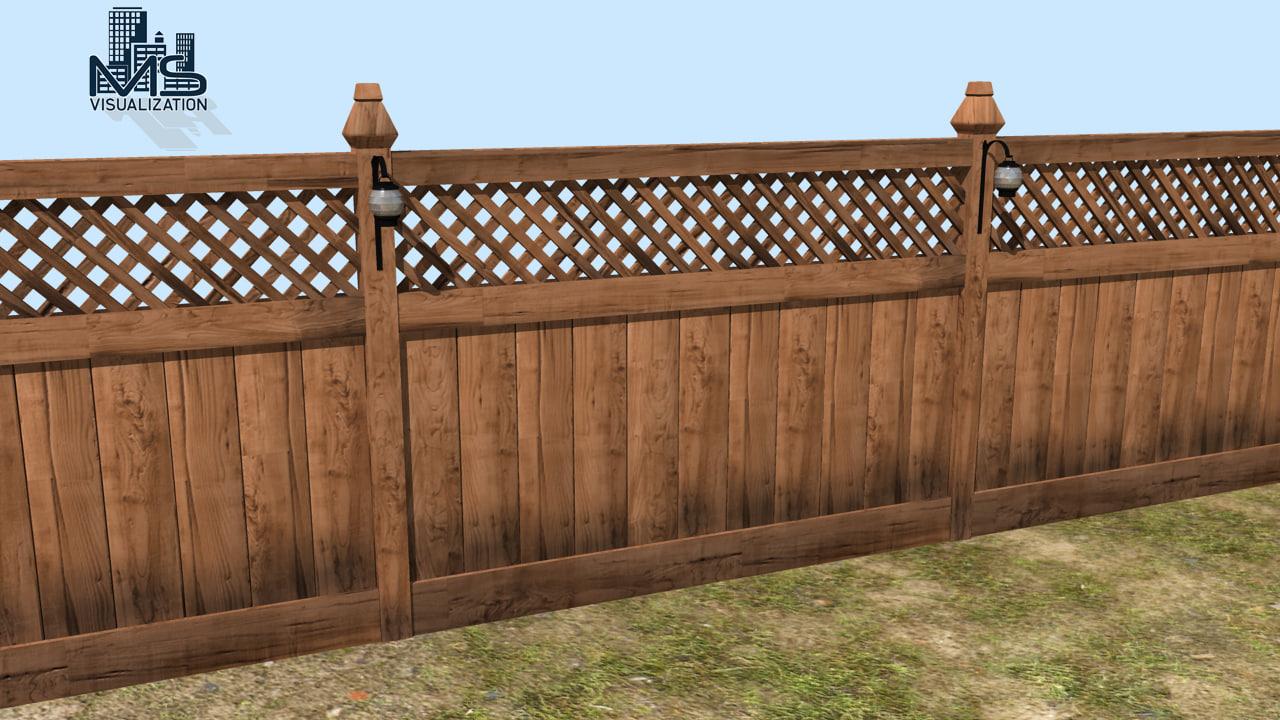 maya wooden fence