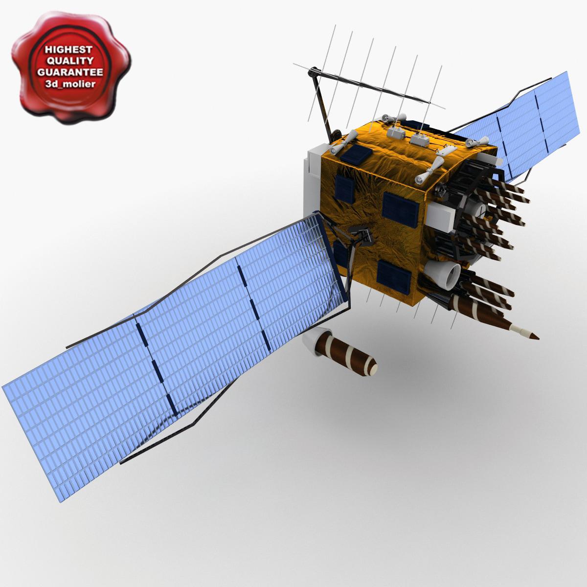 3d gps satellite navstar 54