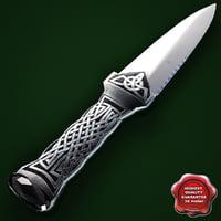 Knife Sgian Dubh