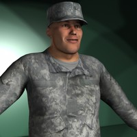 Military Rigged Character Collection Men #1