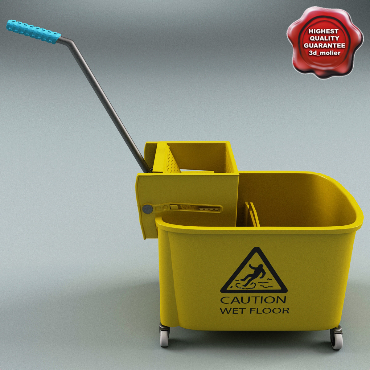 3d model of mop wringer