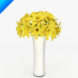 flower arrangement design 3ds
