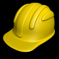 safety hard hat 3d max