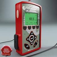 max radiation detector dosimeter quets