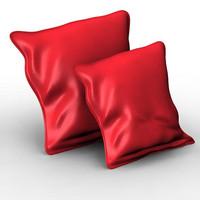 pillow cushion 3d model