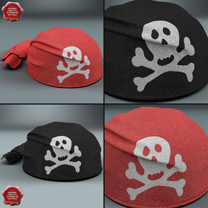 pirate scarf hats max