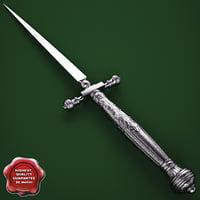 Venetian Fusetto dagger 16th century