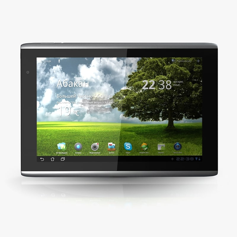 3d acer iconia a500 model