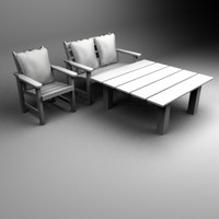 maya table chairs