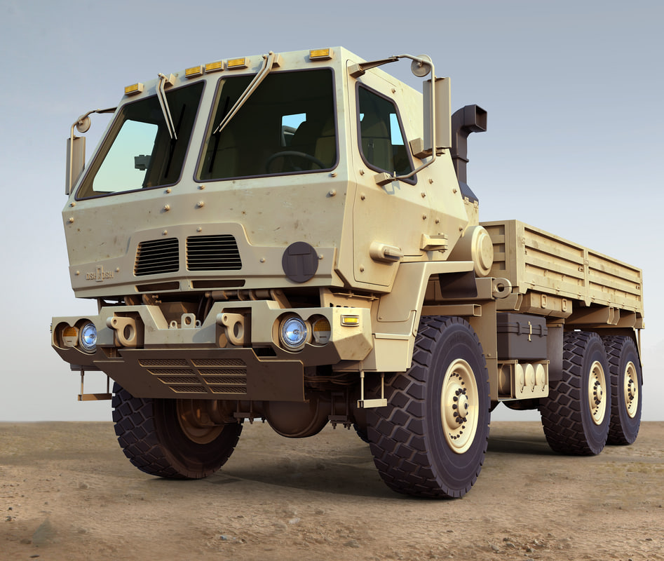 oshkosh fmtv 3d model