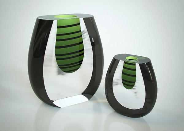 vases formia 3d max