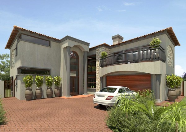3d tuscan home