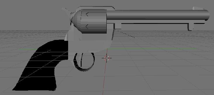 blender revolver