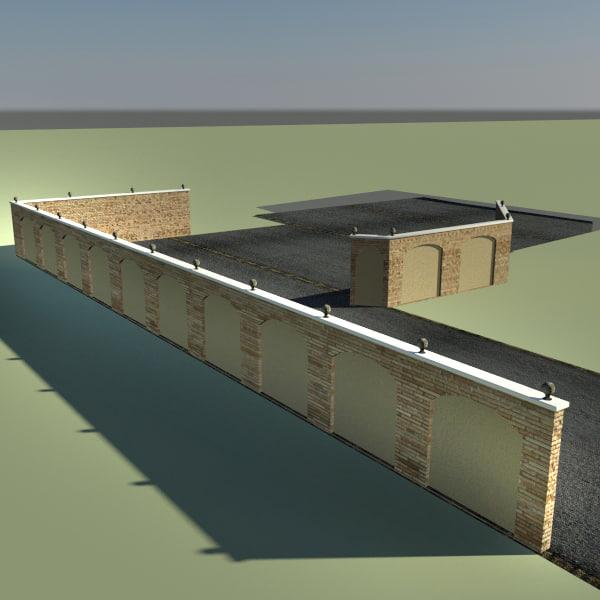maya wall - fence