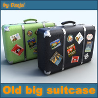 Old big suitcase # 4