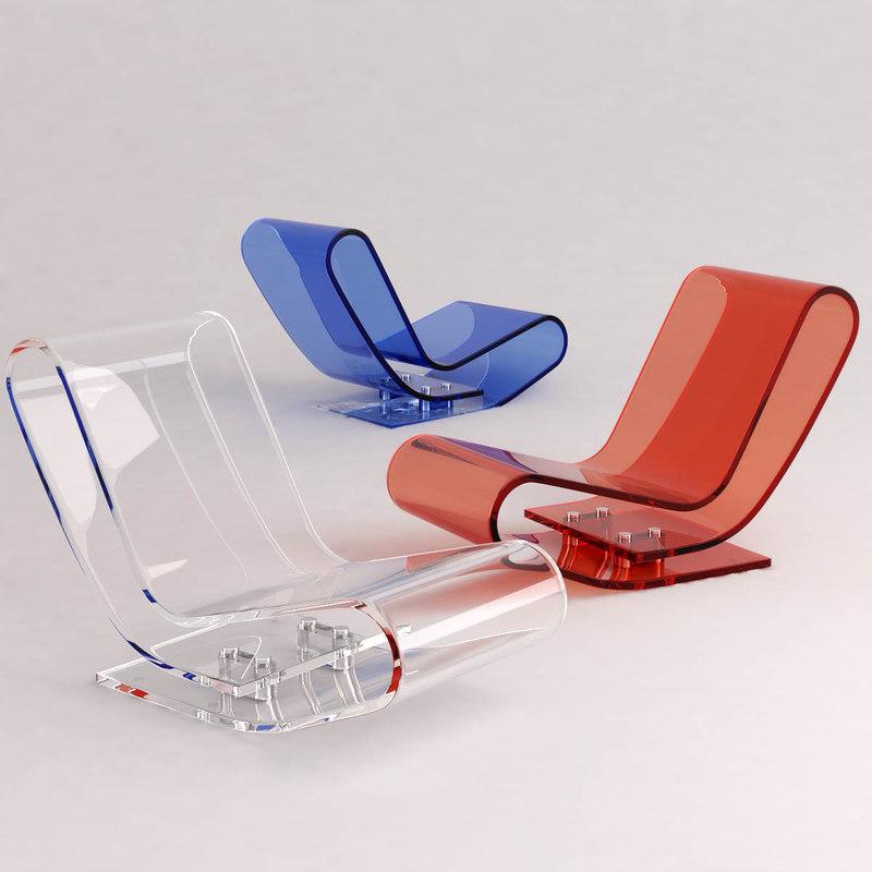 maya lcp lounge chair designed