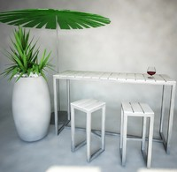 Outdoor furniture-bar, Gandia Blasco