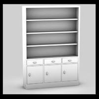cupboard wood 3d max