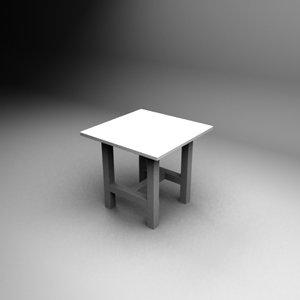 3d 80x80 table
