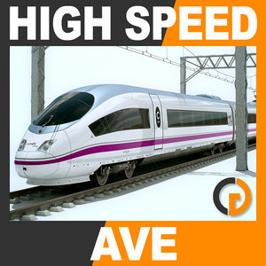 3d speed train - ave model