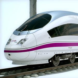 3d speed train - ave model
