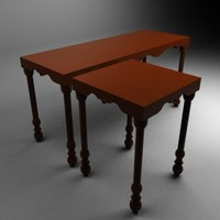 3d bar tables