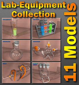 3d c4d chemistry laboratory liebig