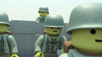 Military Lego Man WW2