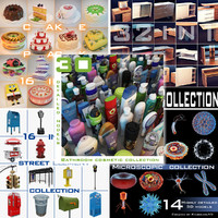 Collections Microscopic Cosmetic Cakes City Gautier