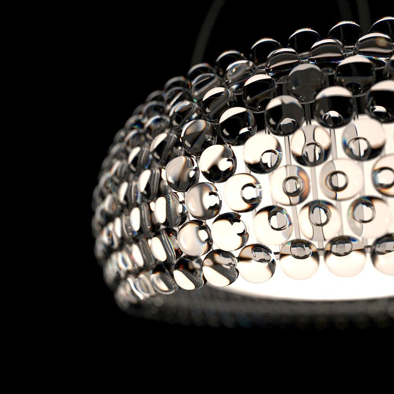 3d model foscarini caboche lamps -