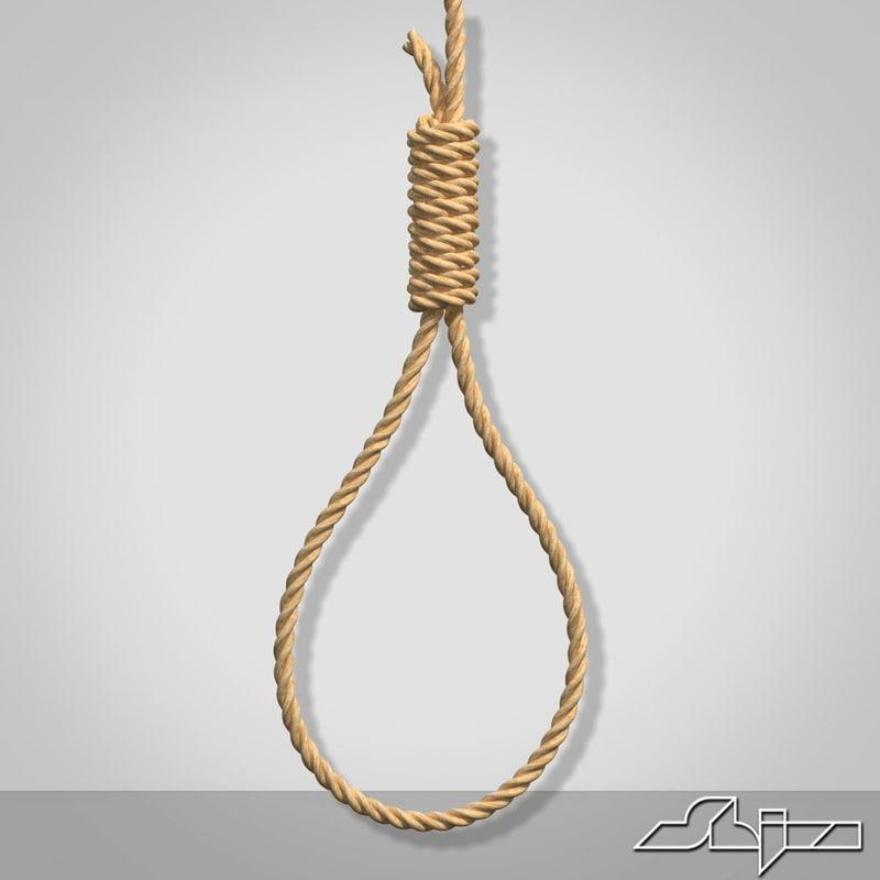 3d gibbet noose
