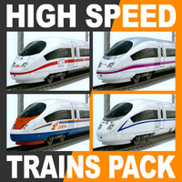 High Speed Train Pack - Siemens Velaro with Interior