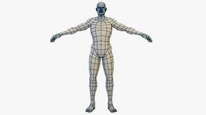 male mesh 3d x