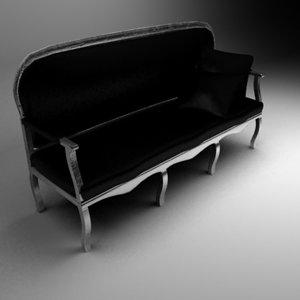 3d lui prince sofa
