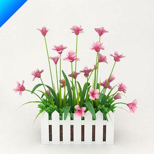 3d model outdoor plant design