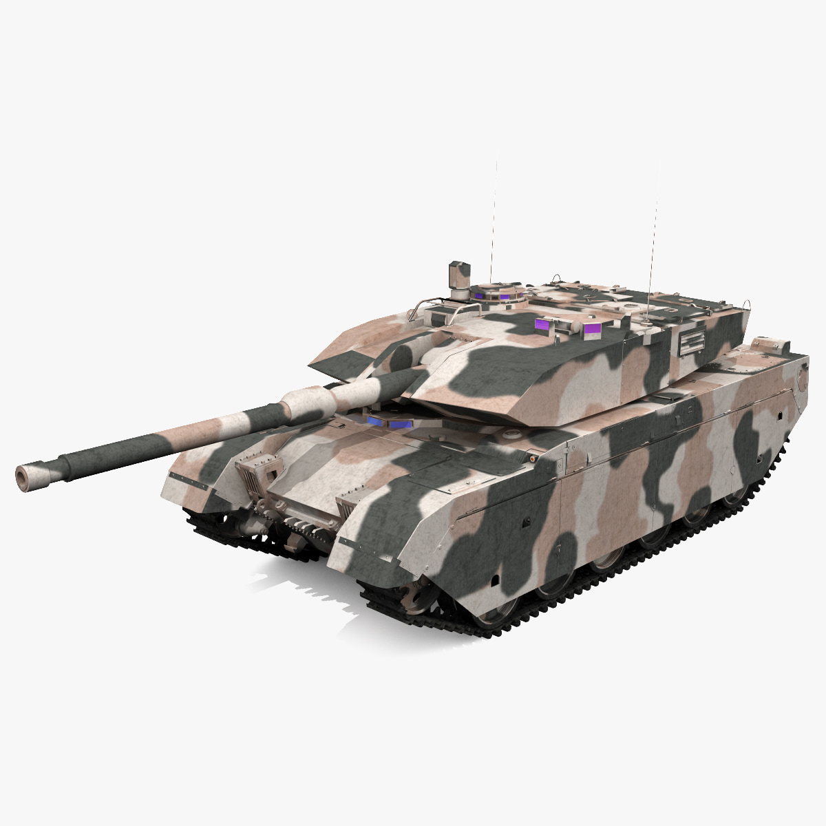 3ds max olifant mk1b battle tank