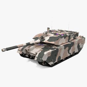 3ds max olifant mk1b battle tank
