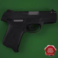 3ds max pistol ruger sr9